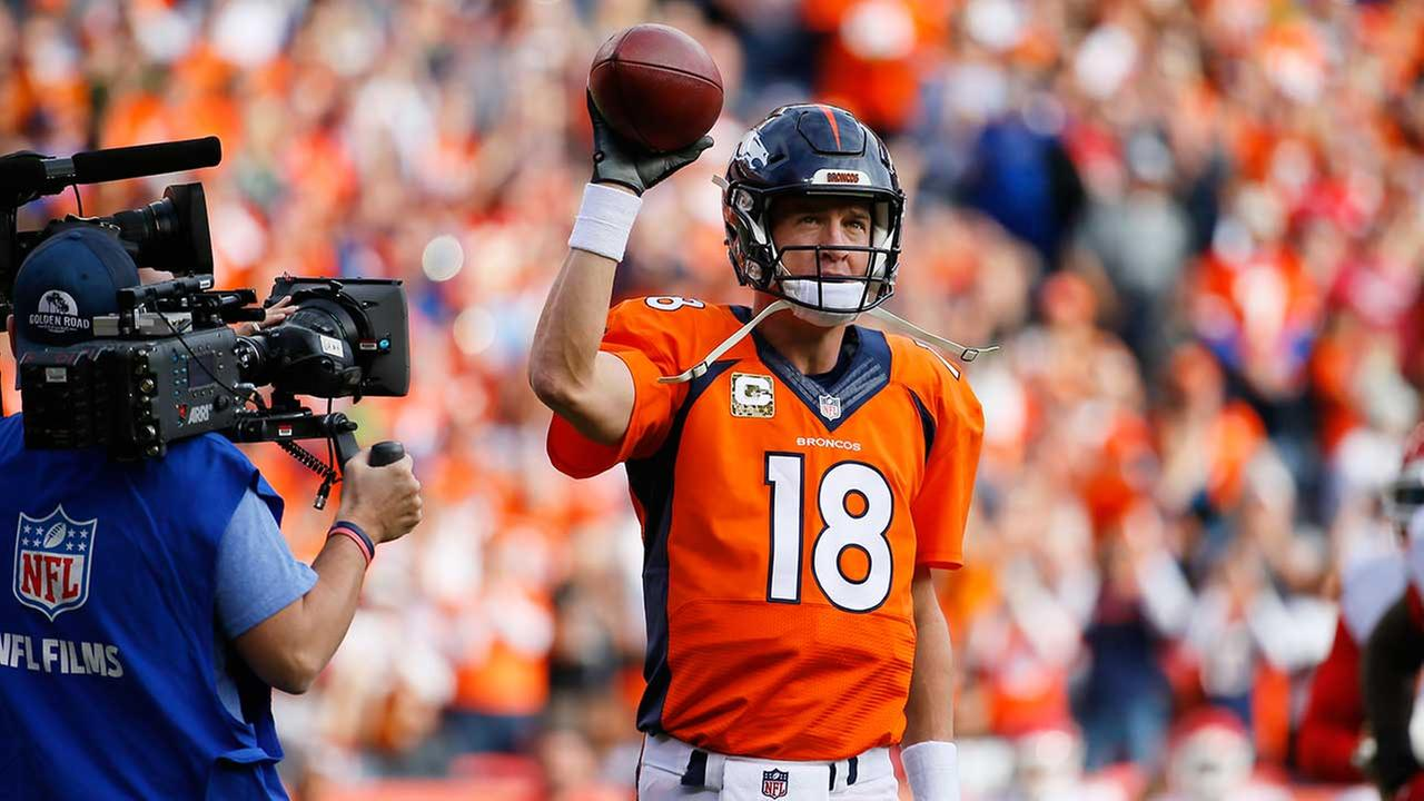 Peyton Manning won't play Sunday against Bears, Broncos coach says