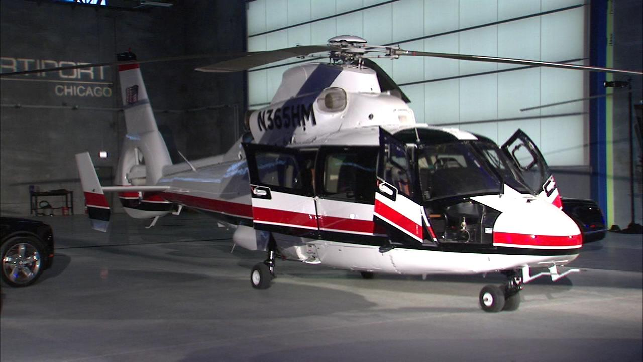 A company called EvoLux is now offering rideshares by helicopter.