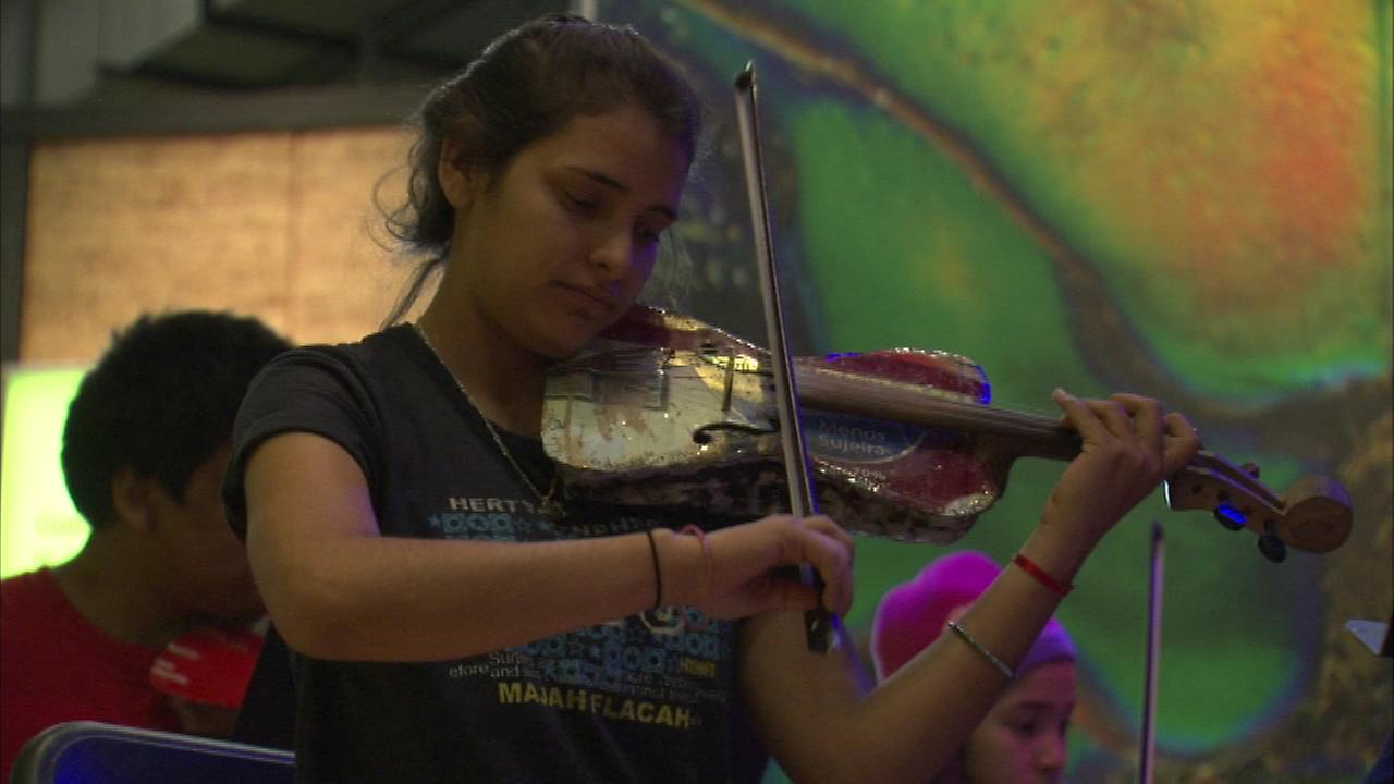 The Recycled Instruments Orchestra of Cateura will close out the festival during its Midwest debut at the Merle Reskin Theater.