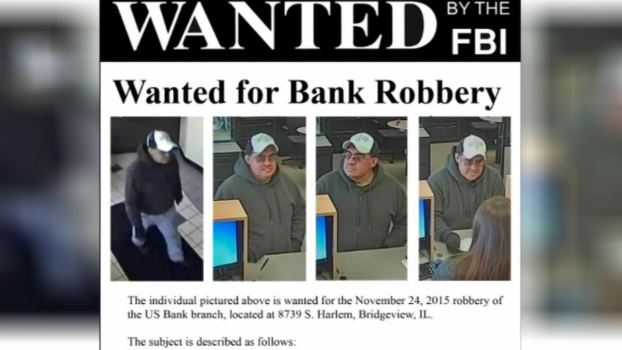 The FBI is asking for the publics help after a bank robbery Tuesday in the southwest suburbs.