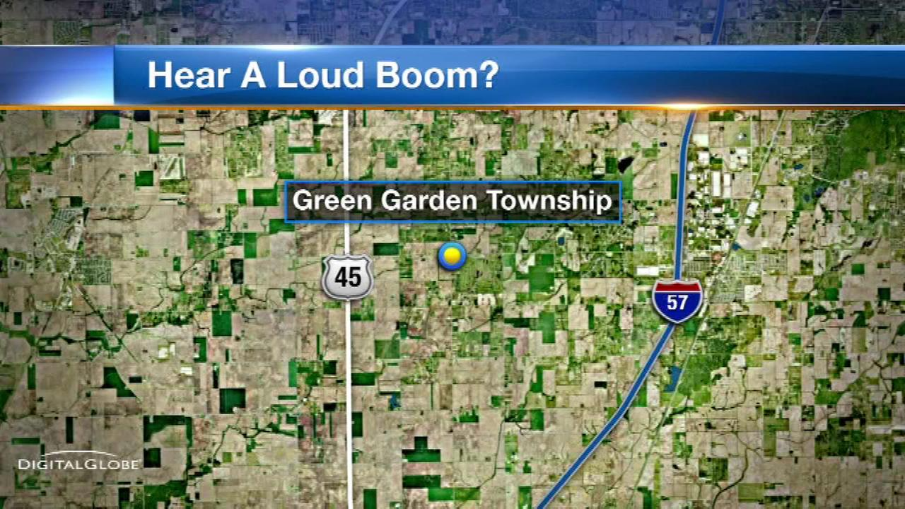 loud boom will county