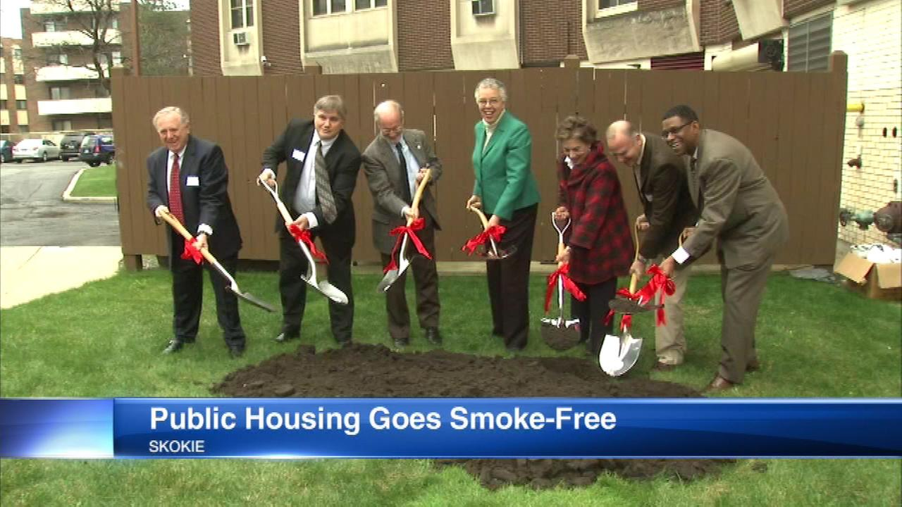 Cook County public housing goes smoke-free