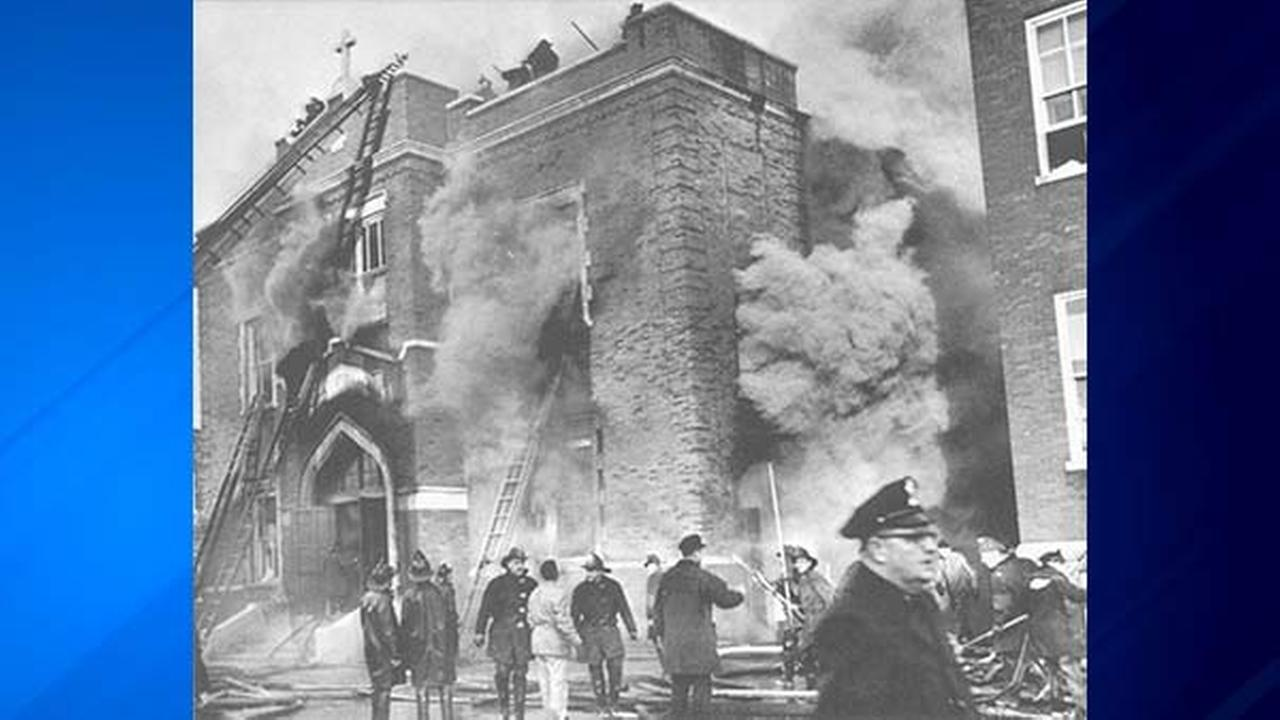 our lady of angels fire