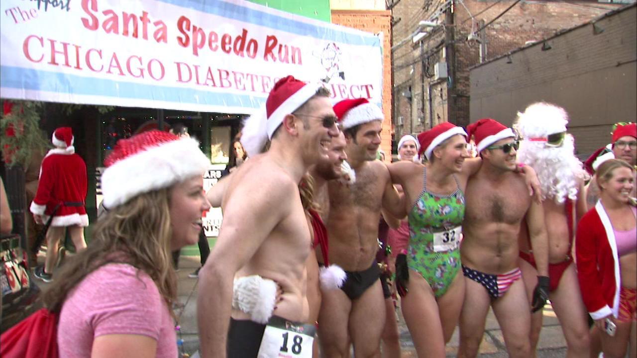 'Speedo Run' raises money for Chicago Diabetes Project