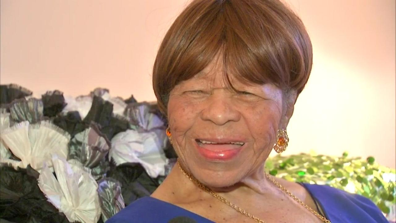 A south suburban woman as 104 reasons to celebrate Sunday, on her 104th birthday.