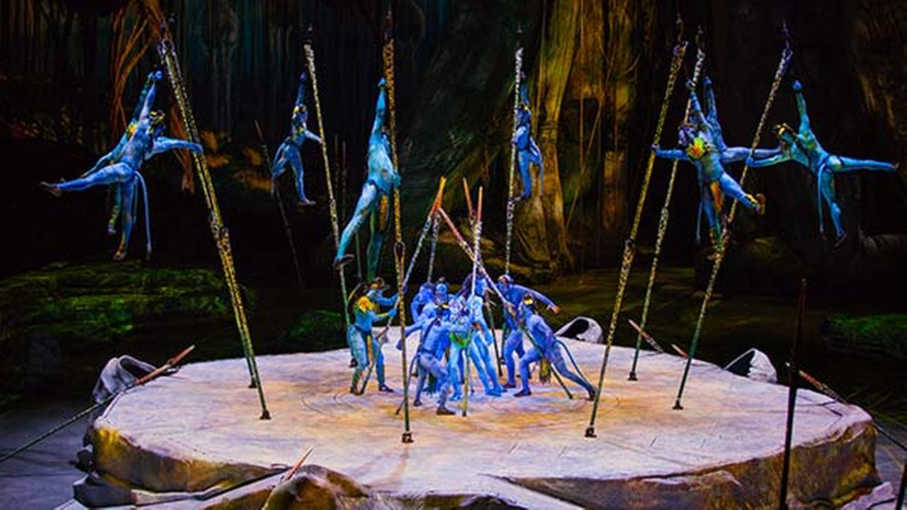 Toruk - The First Flight, a new show by Cirque Du Soleil, inspired by James Camerons Avatar.