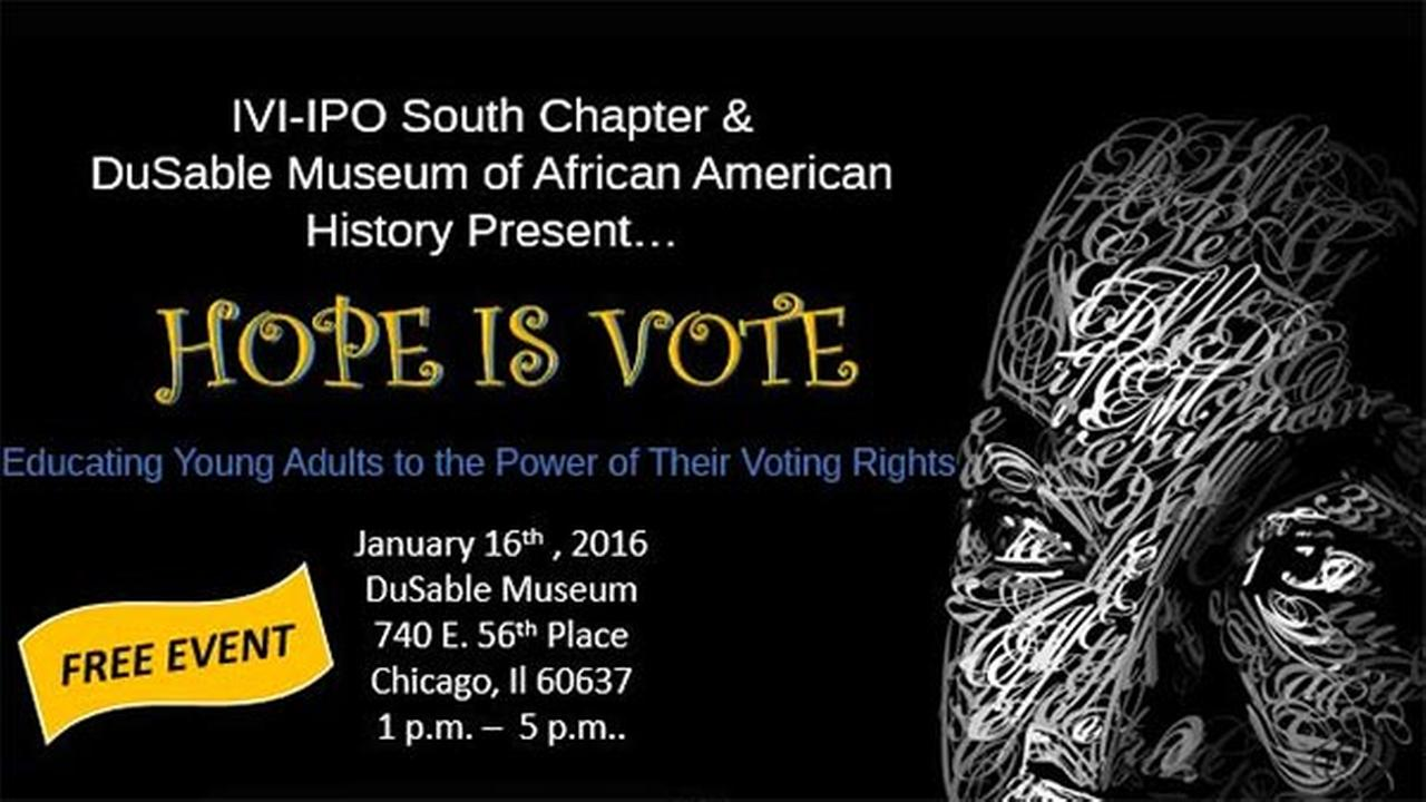 DuSable Museum of African American History will host voting rights event