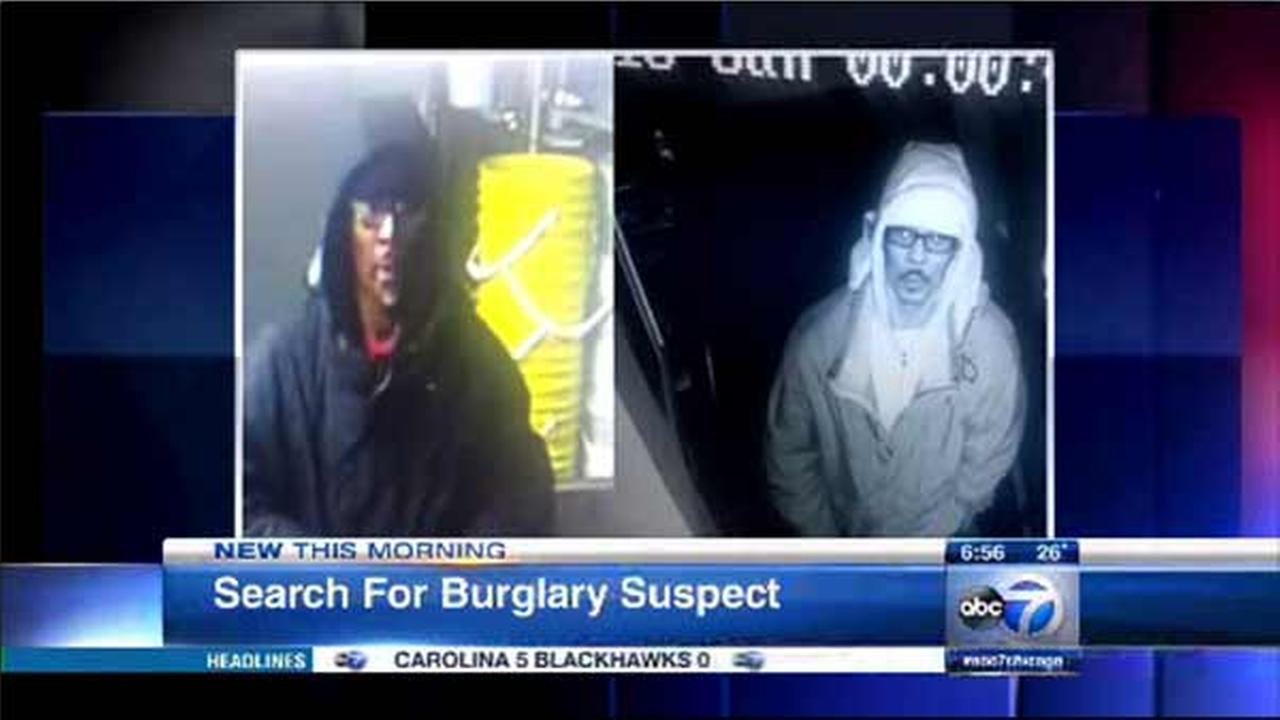 Surveillance photos of suspect in Loop, South Loop burglaries released