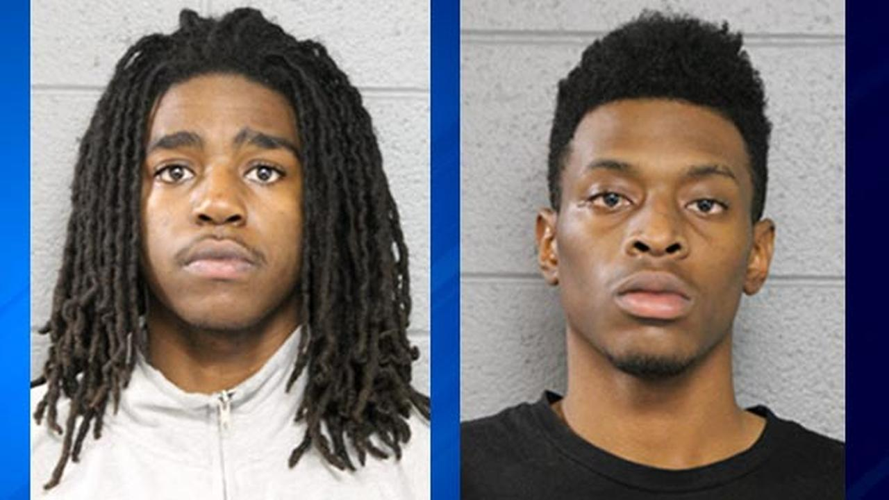 Robert Rhodes, 18 (left) and Arneal Thornton, 19 (right)