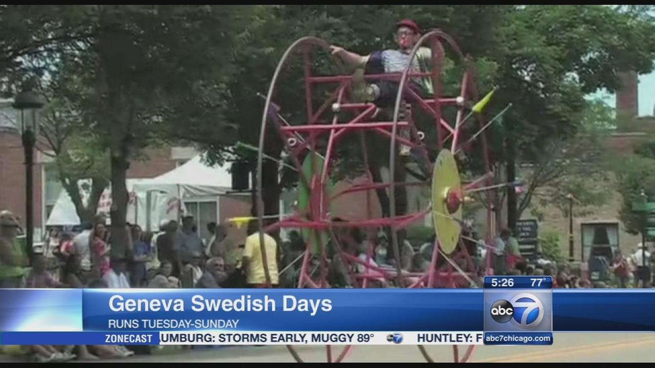 Geneva Swedish Days begin Tuesday