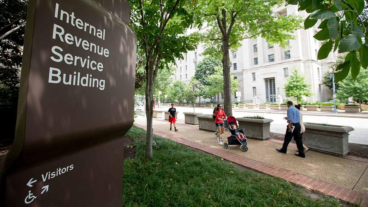 The Internal Revenue Service Building on Aug. 19, 2015, in Washington.