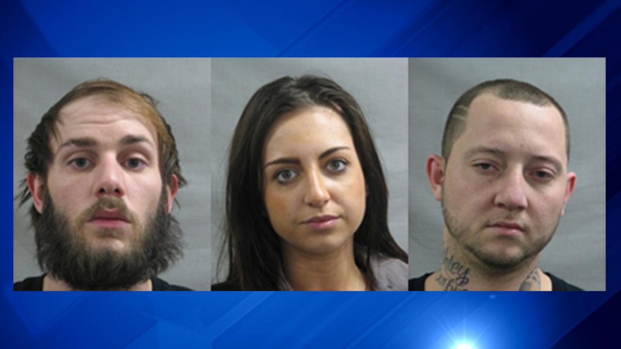 Joseph Vicario, Amanda Woods and Shane Ablan.