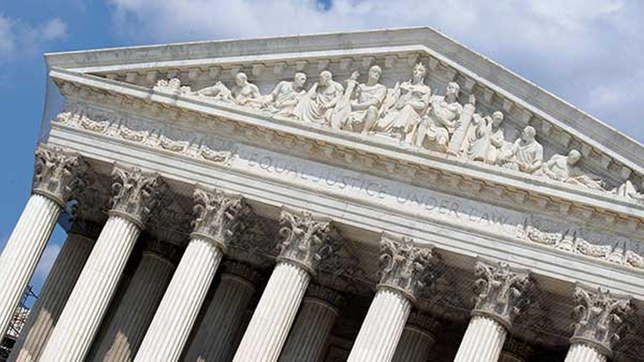 FILE - This June 20, 2012, file photo shows a view of the U.S. Supreme Court in Washington.
