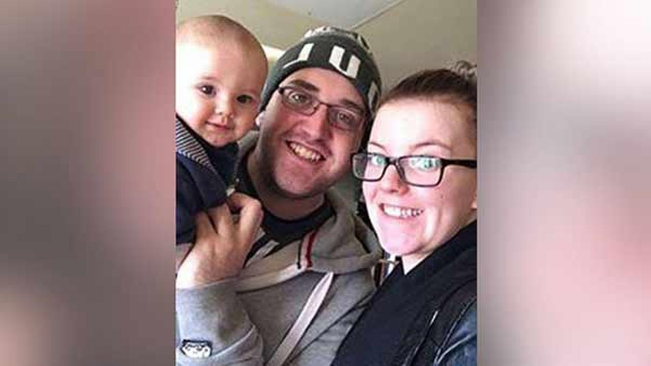 Tony Emms thanked his fiance, Charlotte Sperry, for all she does for their 9-month-old son in a Facebook post that has gone viral.