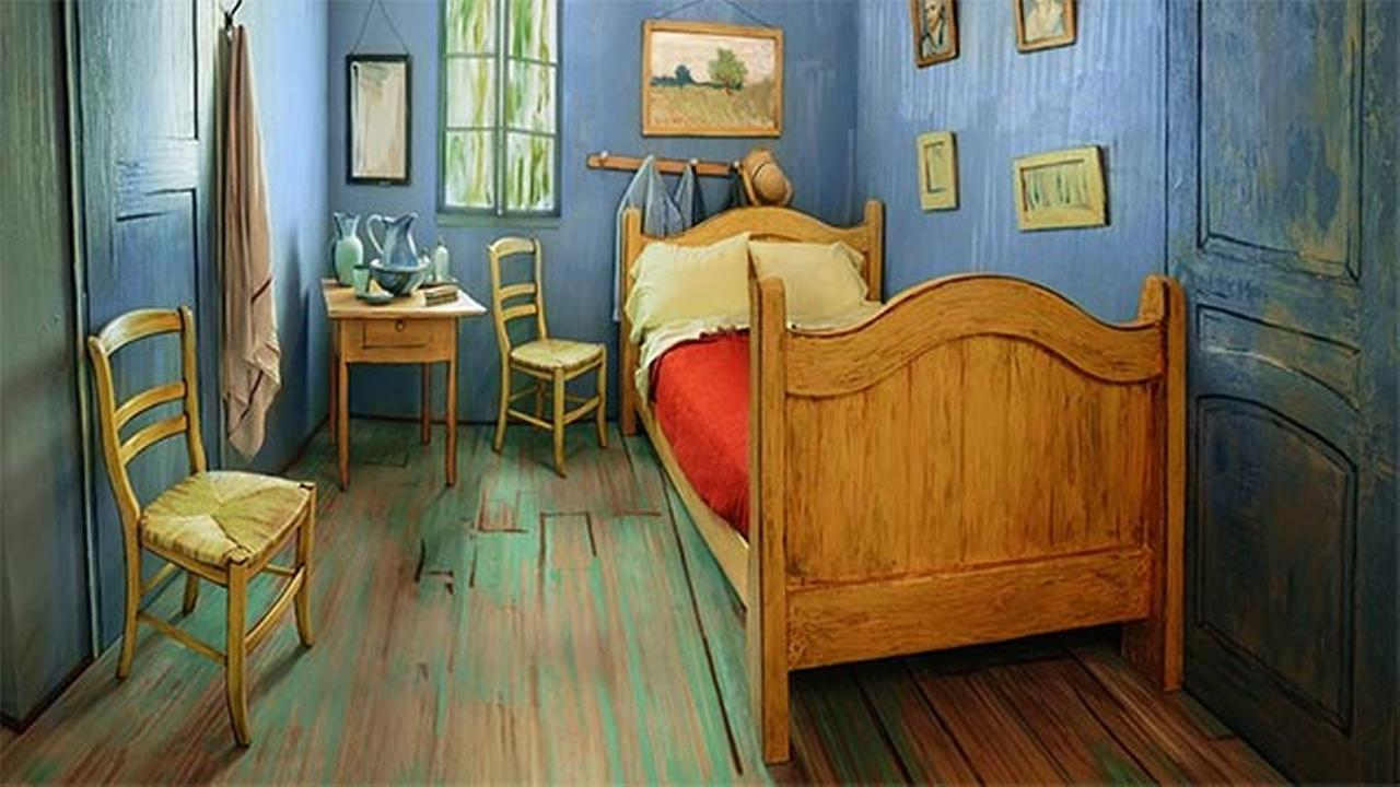 The Art Institute of Chicago has listed Van Goghs bedroom on Airbnb for $10 a night.