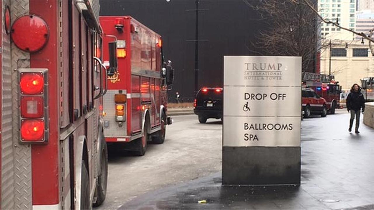 Fire breaks out in Trump Tower trash compactor