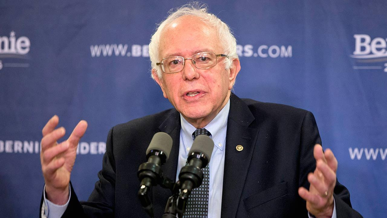 Democratic presidential candidate, Sen. Bernie Sanders, I-Vt. speaks about poverty during a news conference in Columbia, S.C. on Feb. 24, 2016.