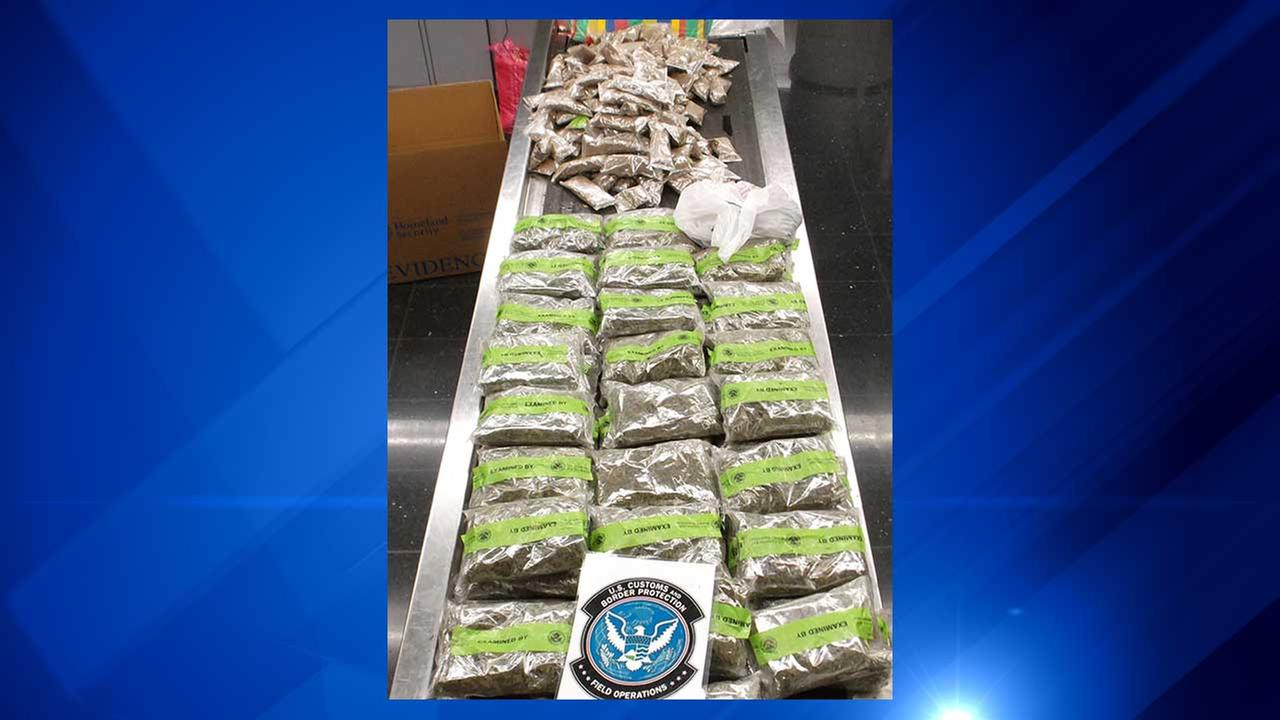 More than 30 pounds of opium powder was seized at OHare International Airport.