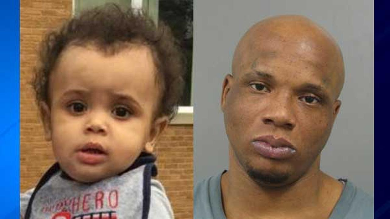 Joshua Powell (left) and his father Jermaine Powell (right)