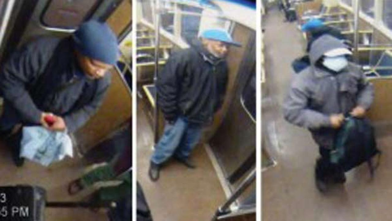 CTA surveillance footage from Blue Line pick pocketing incident on March 23.