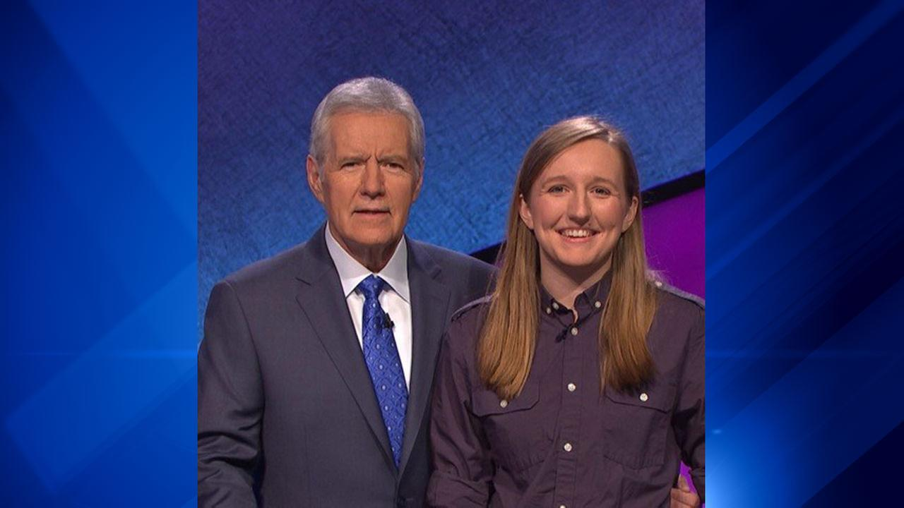 Sabrina Fritz, a biomedical engineering student at Northwestern University, will appear Wednesday on Jeopardy.
