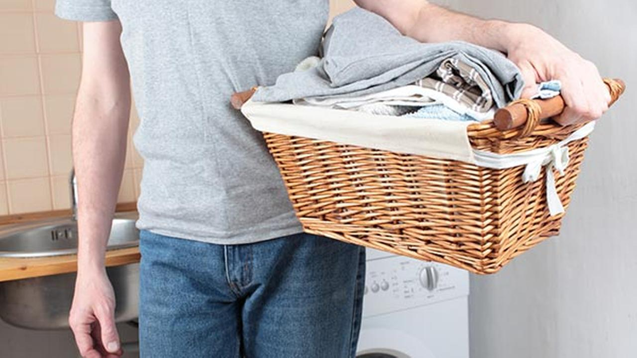 Every end of the week is laundry day.