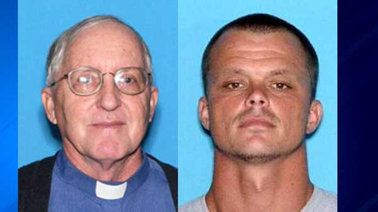 Father Rene Robert and Steven James Murray