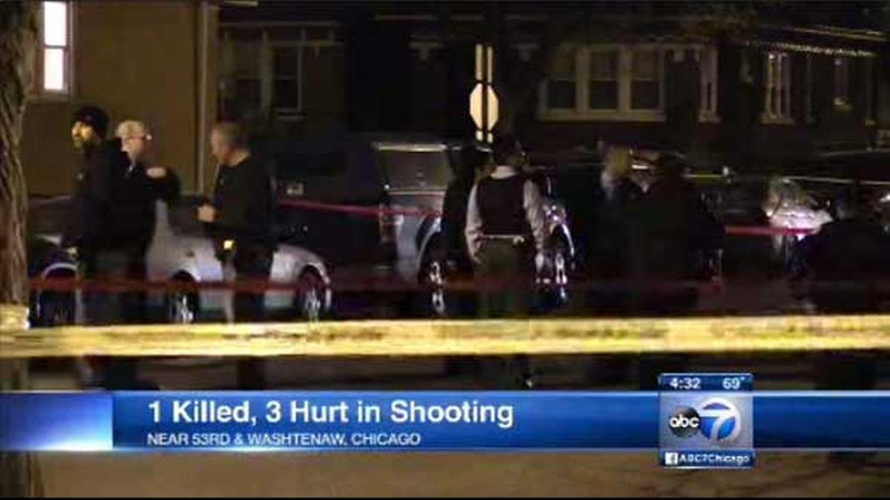 Police search for suspect in deadly Gage Park shooting