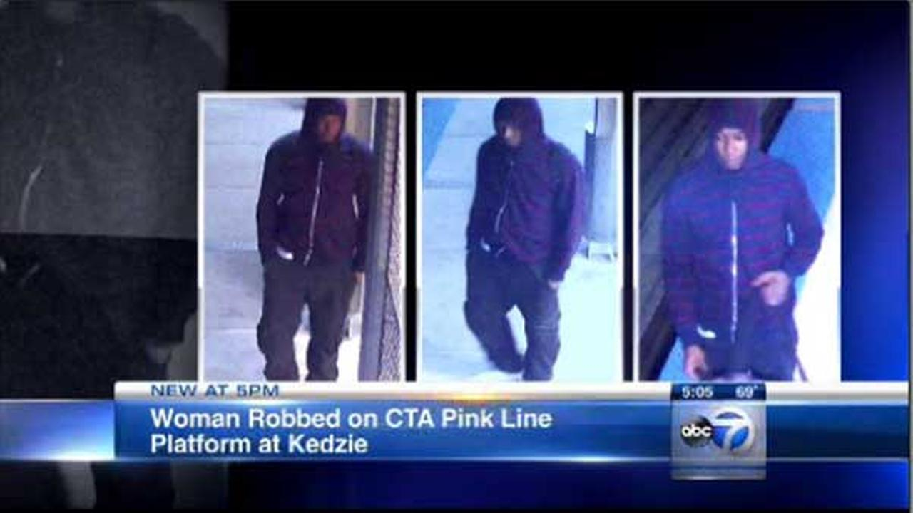 Police alert: Woman robbed at gunpoint on CTA Pink Line