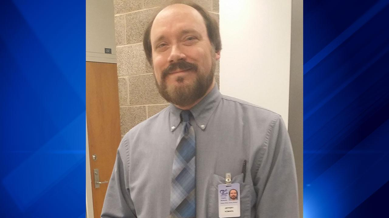 Jeff Komada, a Chicago Public Schools teacher for 30 years, was killed April 30, 2016 when he was hit by a semi truck on I-294.