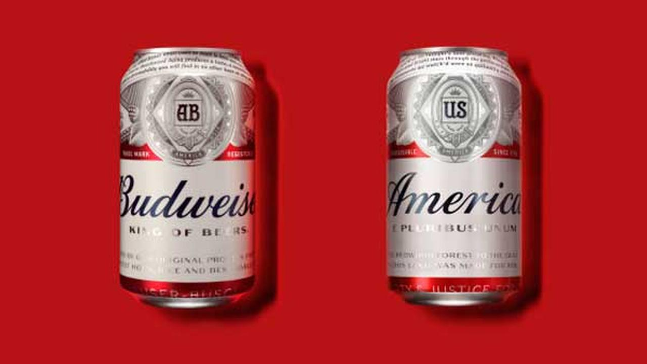 Budweiser, now owned by Belgiums AB Inbev, will rename its beer America this summer and alter its labels with images and phrases affiliated with the republic.