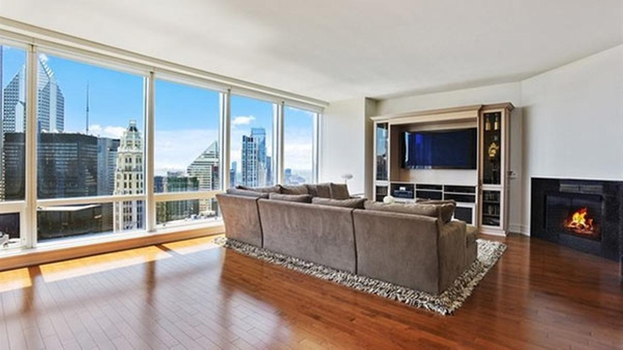 Chicago Blackhawk Patrick Kanes Trump Tower condo is up for sale.