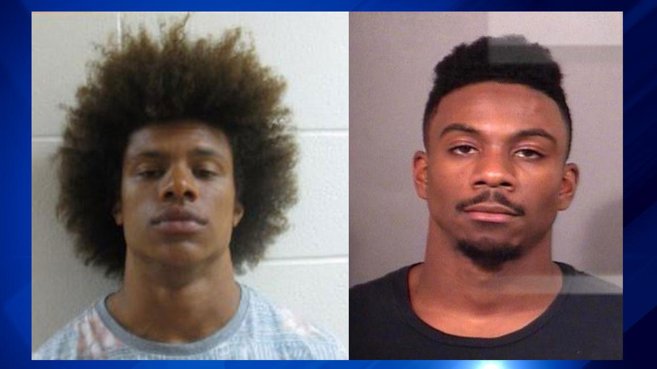 Notre Dame football players arrested in 2 incidents