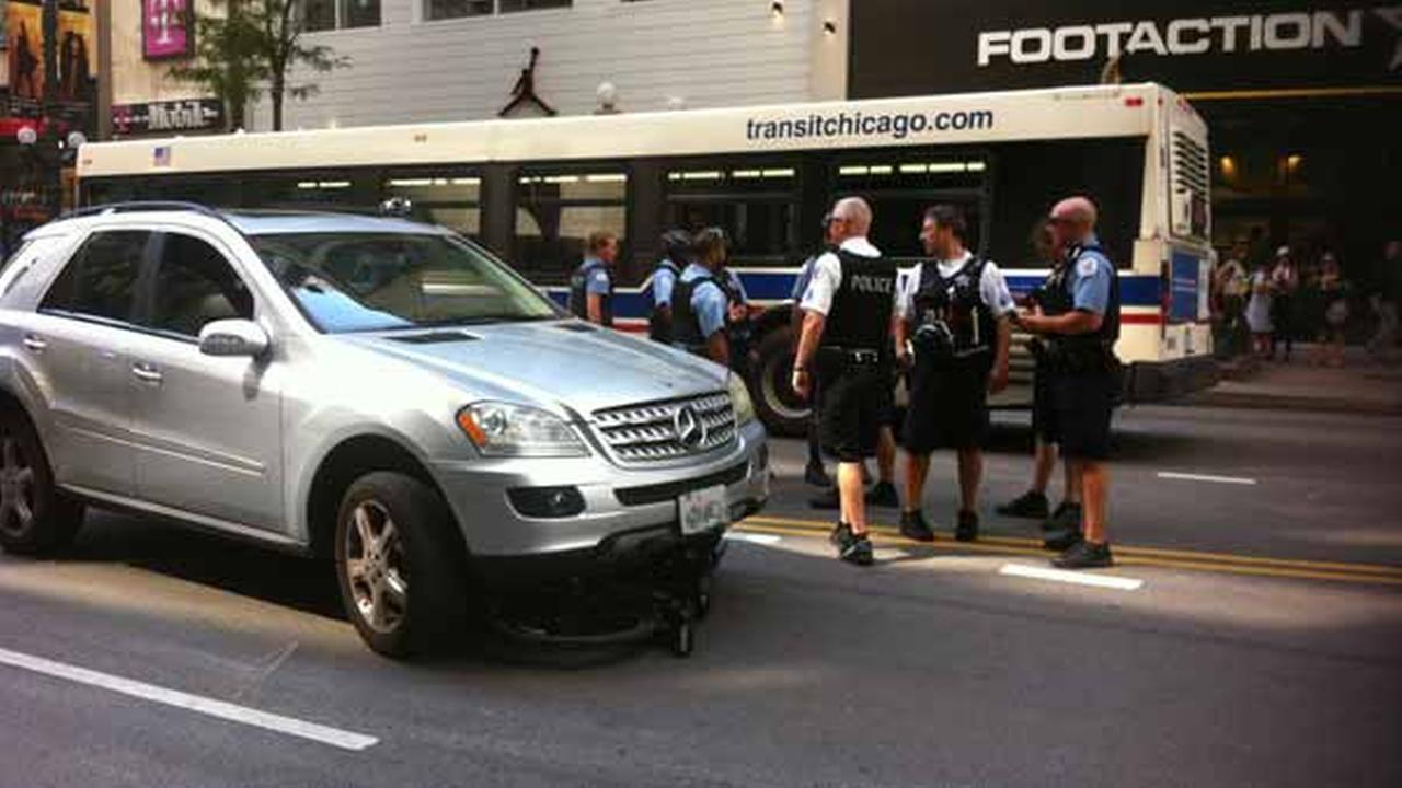 CPD bike patrol officer struck by SUV