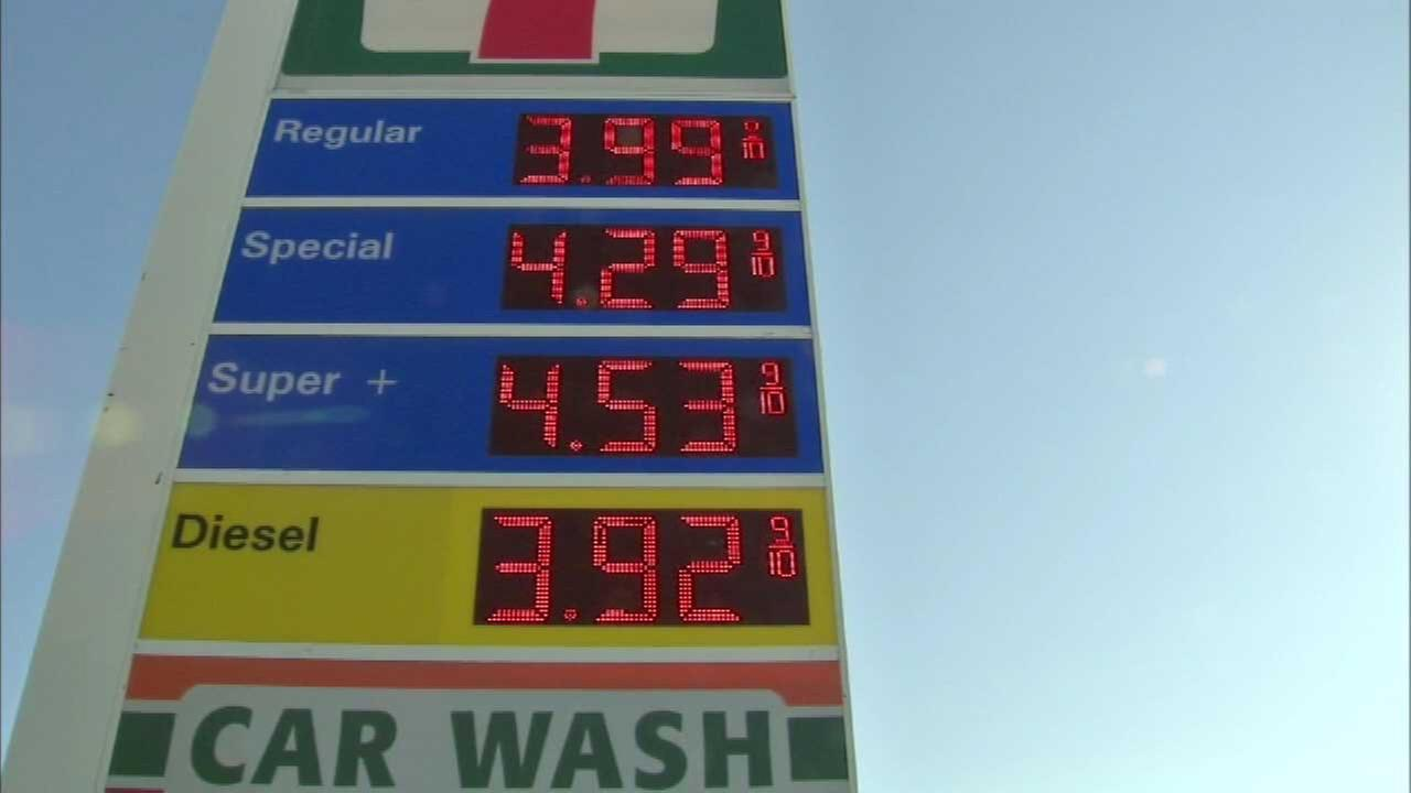 Gas prices jumped for Fourth of July weekend 2014.