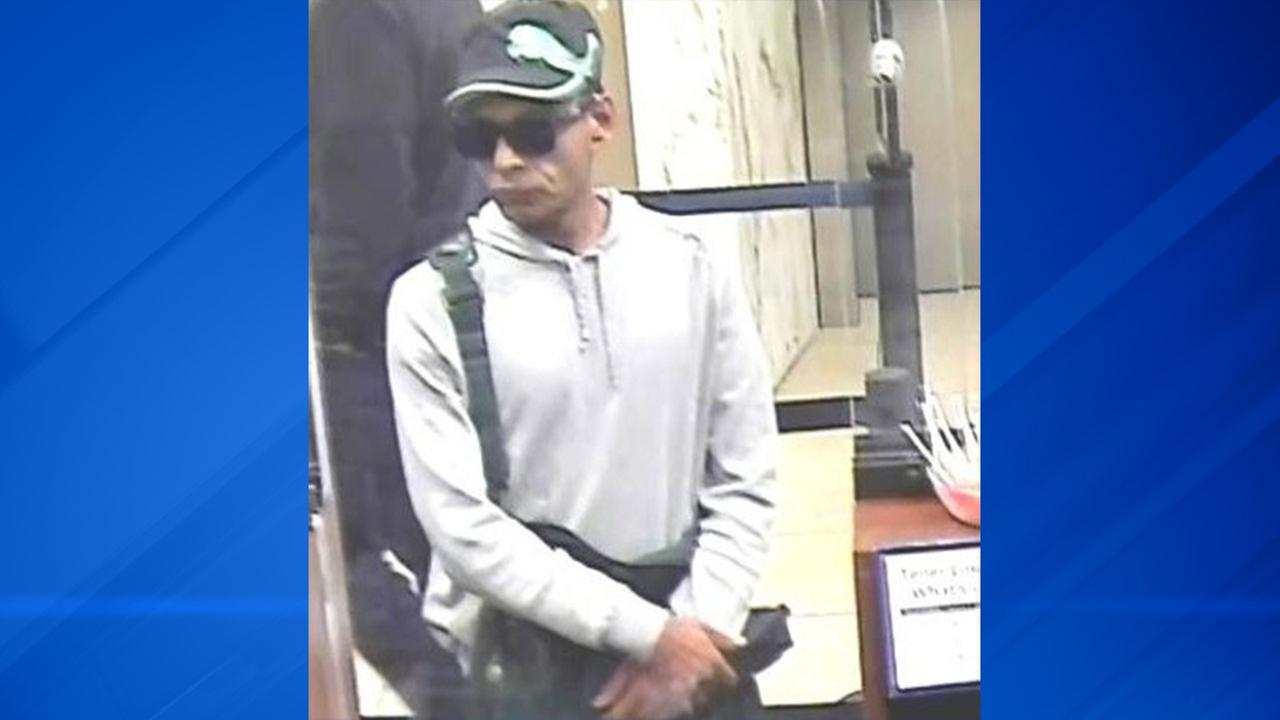 Surveillance photo from an Oct. 19 bank robbery at 6532 W. Cermak Road.