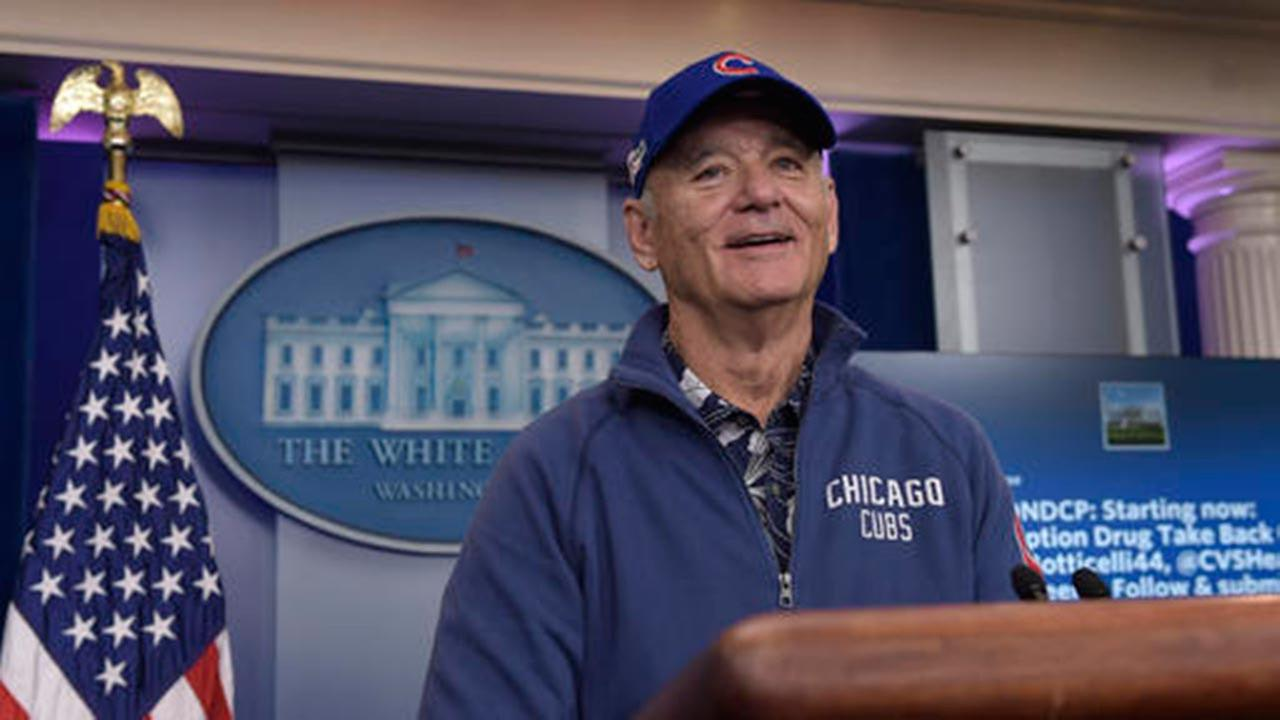 Bill Murray at the White House