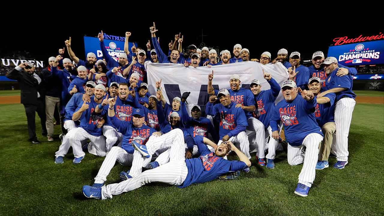 Cubs clinchAP Photo/David J. Phillip