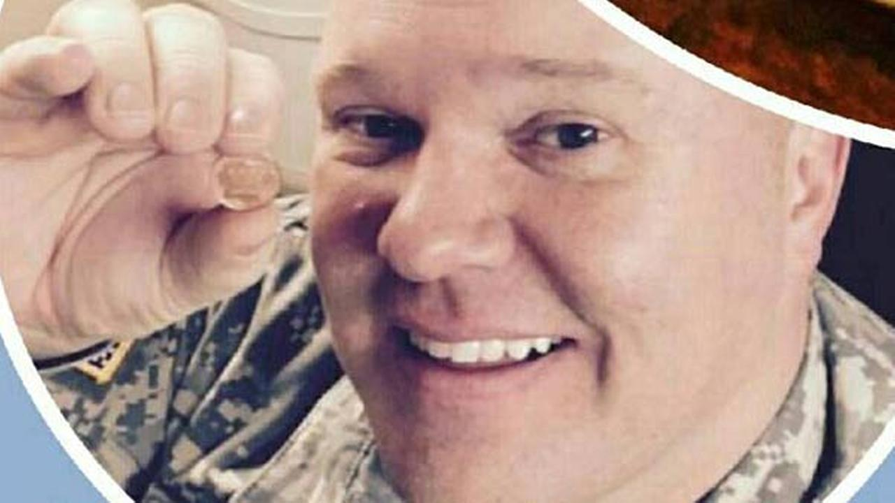 Army veteran Brian King found a lucky penny worth $1,000 while on a weekend trip to Chicago with his family.