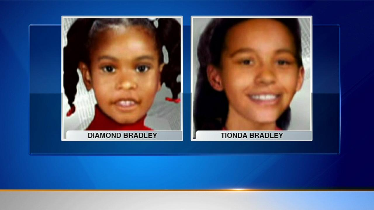 Sisters Diamond and Tionda Bradley vanished from their South Side home 13 years ago Sunday.