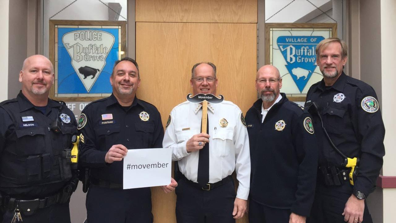 Members of the Buffalo Grove Police Department
