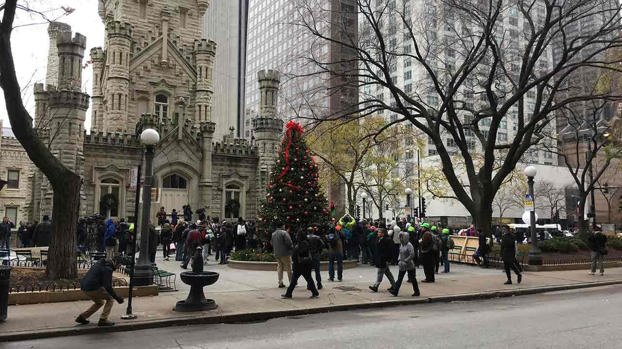 Protesters expected to hit Chicago's Mag Mile today