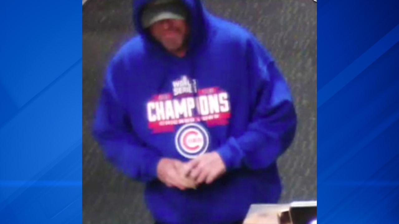 A suspect in a bank robbery reported Friday afternoon in the southwest suburban Willow Springs.
