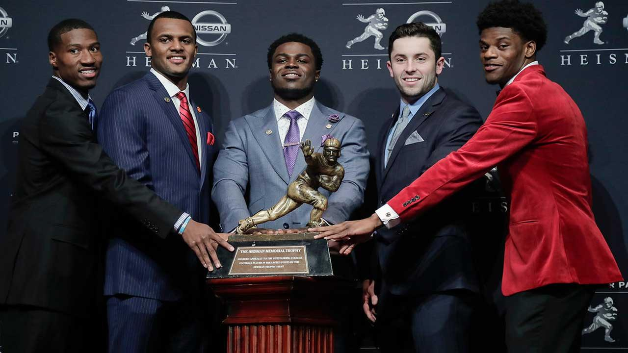 Heisman Trophy finalists
