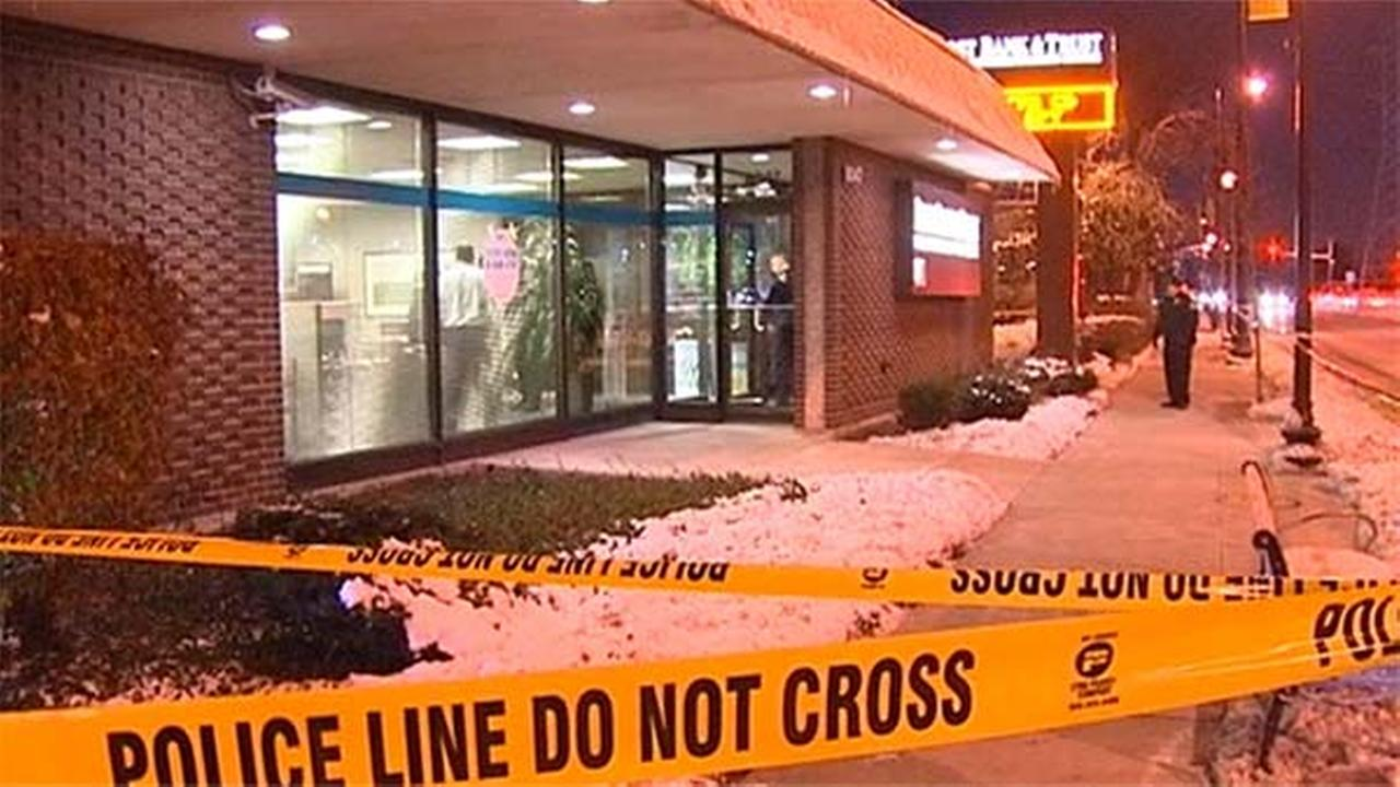 Footage from an armed bank robbery reported Tuesday evening at a First Bank and Trust branch at 8047 Skokie Boulevard in north suburban Skokie