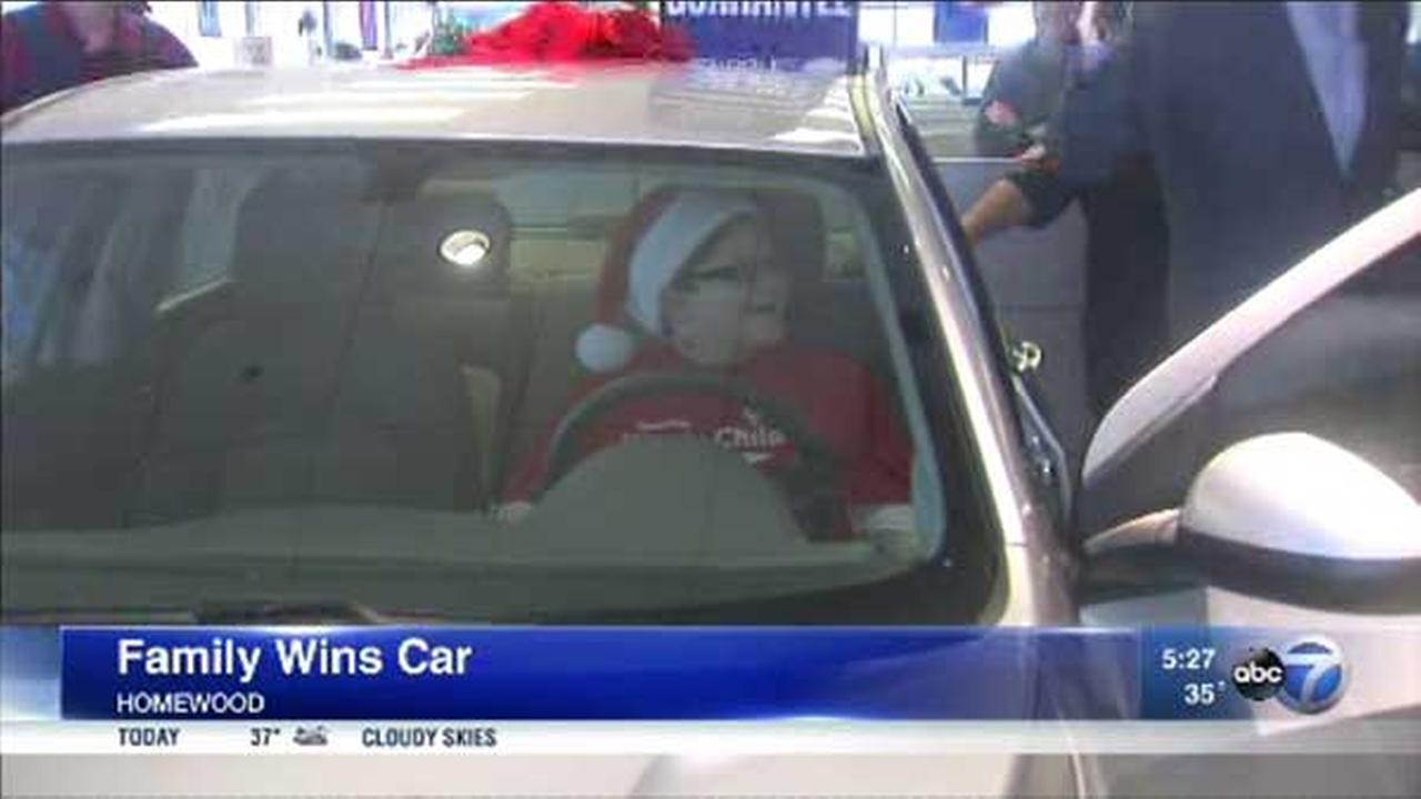 Chevrolet of Homewood gifts car to deserving family on Christmas Eve