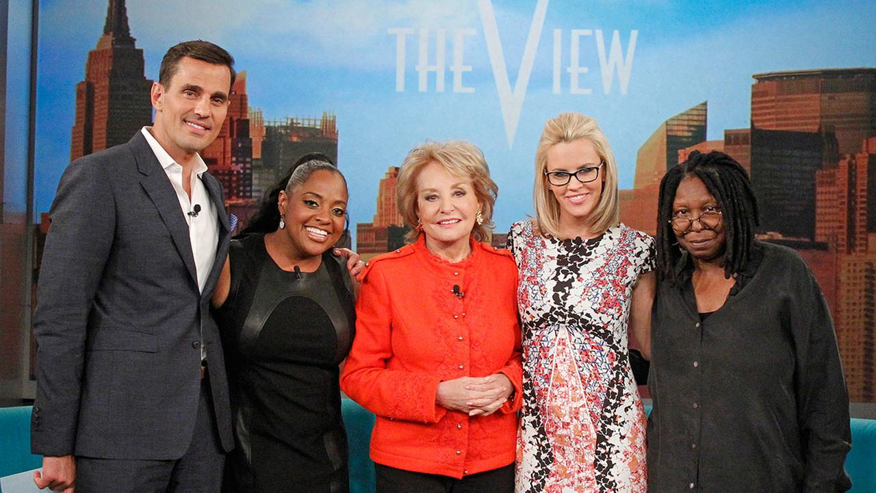 Bill Rancic, Sherri Shepherd, Barbara Walters, Jenny McCarthy, Whoopi Goldberg, The View