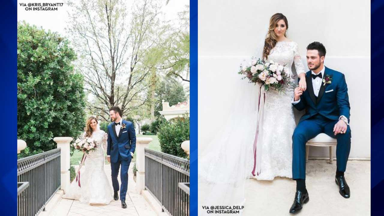 Cubs Kris Bryant gets married