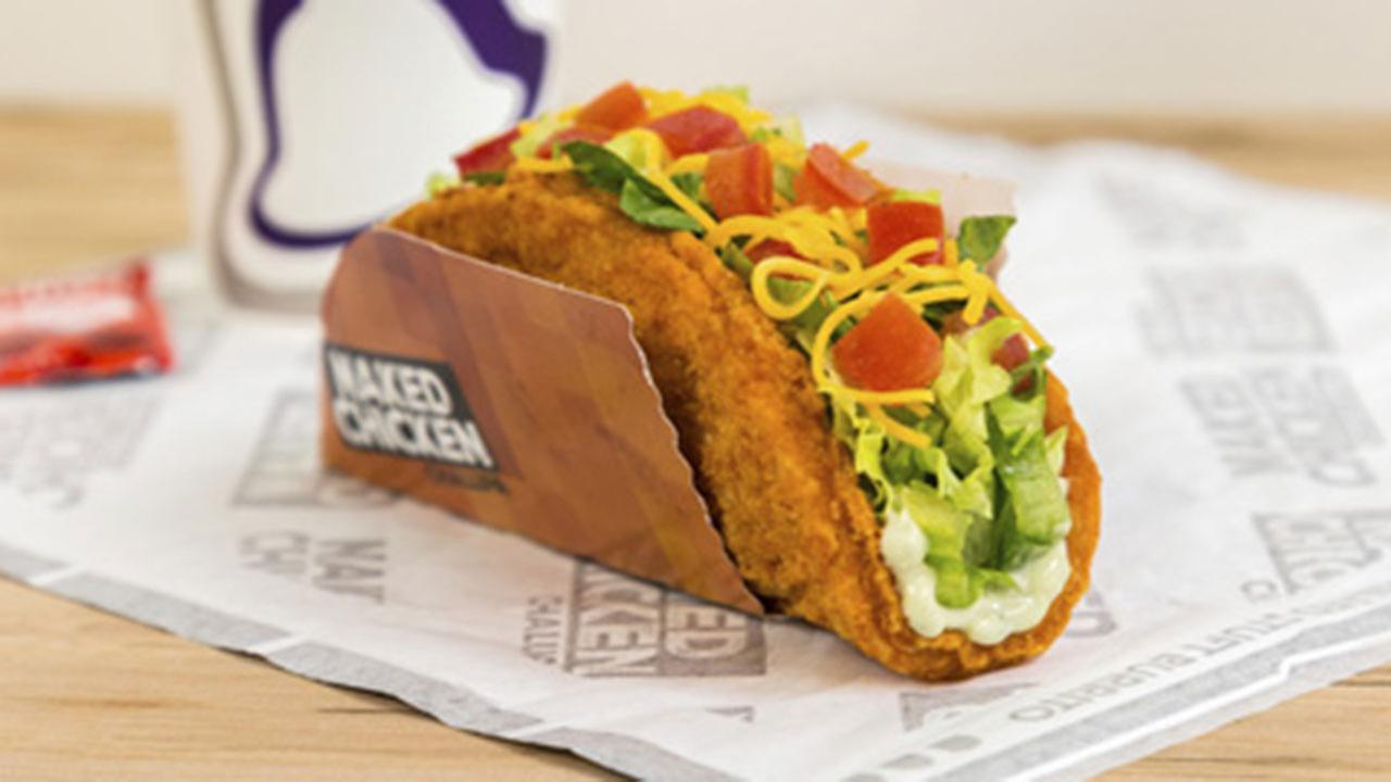 Taco Bells Naked Chicken Chalupa