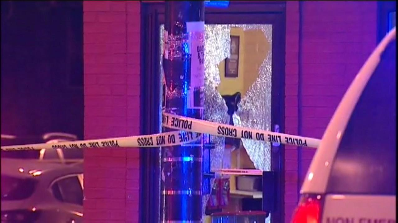 Police investigate a fatal shooting that took place near a hot dog shop in the Ukrainian Village neighborhood.